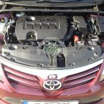 Toyota Avensis 1.6 Valvematic converted to gas in Ireland
