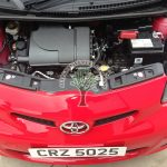 Toyota Aygo 1.0 converted to fun on lpg autogas engine bay