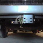 Toyota Land Cruiser Amazon V8 LPG filling point