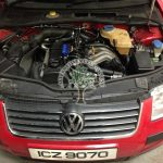 Volkswagen passat 2.0 lpg autogas convertion engine bay after whats involved