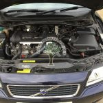 Volvo S60 2.4 turbo engine bay lpg converted