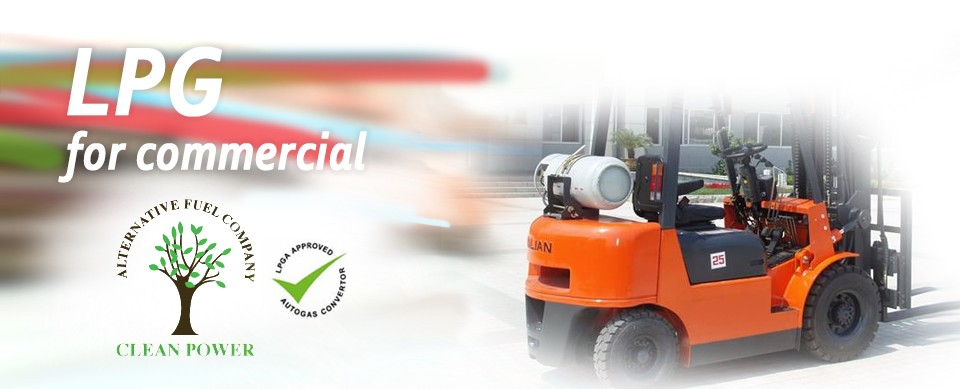 Forklifts & commercial LPG conversions