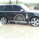 range rover 4.4 v8 black rear body mounted Autogas Filler