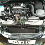 skoda octavia 1.6 engine after installation of lpg system with Magic injectors KME silver and AFC G3