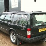 volvo 940 rear mounted tow bar filler autogas conversion on older cars with no problems